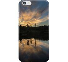 north carolina reflection sunset iPhone Case/Skin