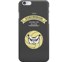 Fukurodani Crest (light) iPhone Case/Skin