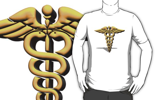 Medical Symbol T-Shirt or Hoddie by imagetj