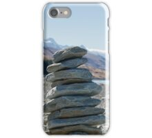 Cairn by Lake iPhone Case/Skin