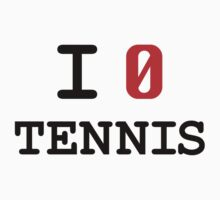 I Love Tennis by ctlart