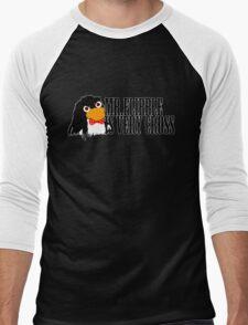 Mr. Flibble is very cross Men's Baseball ¾ T-Shirt