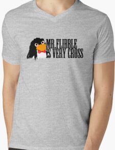 Mr. Flibble is very cross Mens V-Neck T-Shirt