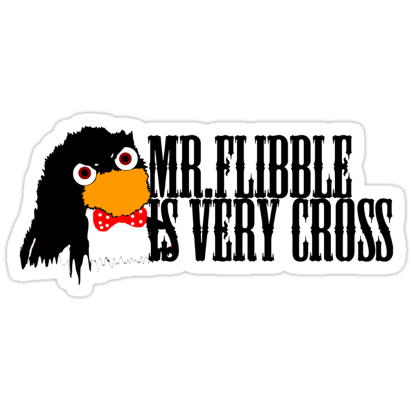 Mr. Flibble is very cross by inu14