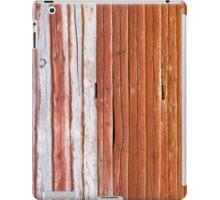 Wall of an log cabin iPad Case/Skin