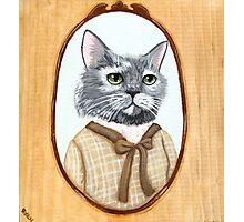 Portrait of Dahlia Cat Photographic Print