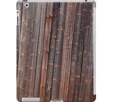 Old tilted barn wall iPad Case/Skin