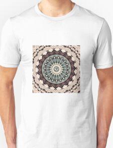 Mandala in Brown T-Shirt