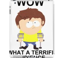 Jimmy - South Park (terrific audience) iPad Case/Skin