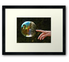 Reflection Perfection Framed Print