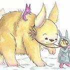 Giant Bunny by Ellen Stubbings