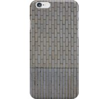 White brick wall iPhone Case/Skin