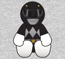 Black Power Ranger Pal One Piece - Short Sleeve