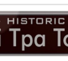 Historic Shi Tpa Town (South Park) Sticker