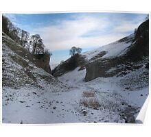 The Limestone Way, Derbyshire Poster