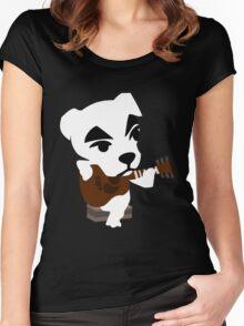K.K.Slider / Totakeke Women's Fitted Scoop T-Shirt
