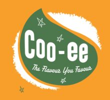 Cooee Cordials logo by Chris Rees