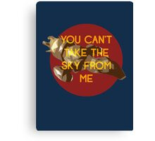 i don't care, i'm still free Canvas Print
