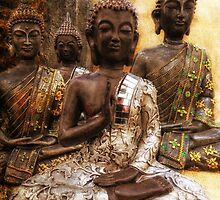 the 4 Buddhas by Jo-PinX