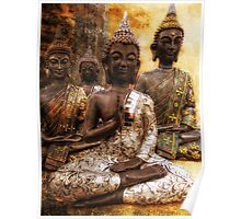 the 4 Buddhas Poster