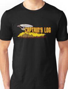 Captain's Log Unisex T-Shirt
