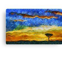 Kenyan Sunrise Canvas Print