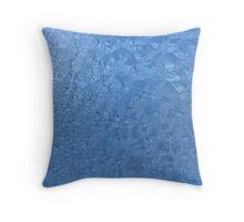 Frozen glass Throw Pillow