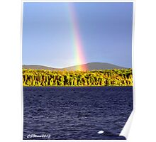 Rainbow Over Eagle Lake Poster