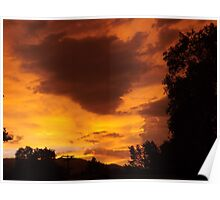 The Colors Of Sunset Poster