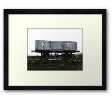 Disused Railway - Middleton Moor Framed Print