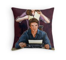 Murder He Wrote Throw Pillow