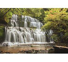 Purakaunui Falls Photographic Print