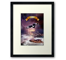Where Eagles Soar Framed Print