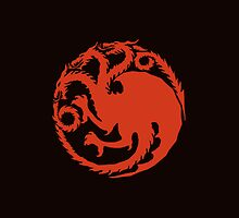 House Targaryen by quirkykido
