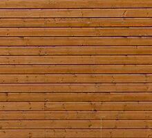 Reddish plank wall by Kristian Tuhkanen