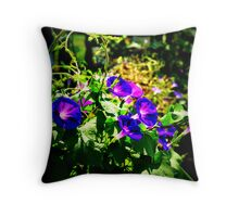 As Summer Exits In Glory Throw Pillow