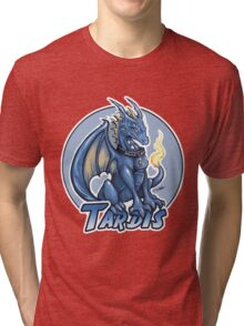 Police Box Dragon (TARDIS) Tri-blend T-Shirt