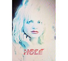 Pretty on the Inside (Hole) Photographic Print