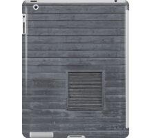 Horizontal blank plank wall iPad Case/Skin