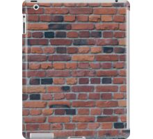 Old red brick wall iPad Case/Skin