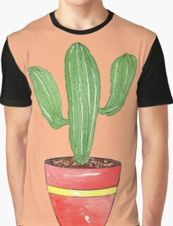 Cactus Mexi - Can Graphic T-Shirt