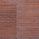 Red brick wall by Kristian Tuhkanen