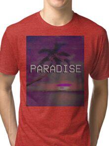 Paradise (AESTHETIC) Tri-blend T-Shirt