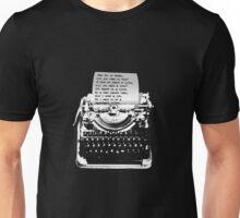 Beatles Fan Letter Unisex T-Shirt