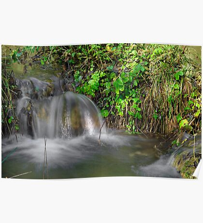Tumbling Water, Monk's Dale Poster