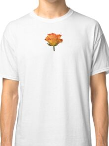 Single Orange Rose Classic T-Shirt