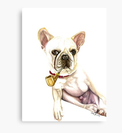 Frenchie Canvas Print