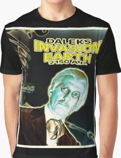 Daleks Invasion Earth Graphic T-Shirt