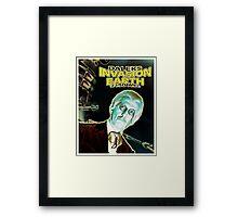 Daleks Invasion Earth Framed Print