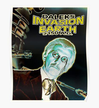 Daleks Invasion Earth Poster